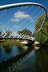 Butterfly Bridge over the River Great Ouse, Bedford, England
