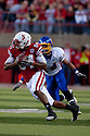 25 September, 2010: Nebraska wide receiver Brandon Kinnie #84 makes the catch against South Dakota State at Memorial Stadium in Lincoln, Nebraska. Nebraska defeated South Dakota State 17 to 3.