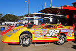 Feb 17, 2014; 4:30:10 PM;  Barberville, FL, USA;  World of Outlaws Late Model Series for 43rd Annual DIRTcar Nationals presented by Summit Racing Equipment at Volusia Speedway Park.  Mandatory Credit: (thesportswire.net)