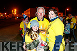 Rachel Prenderville, Izzy (the dog), Michael Day and Ann-Marie Prenderville, all from Firies, pictured at the Darkness Into Light walk, Tralee on Saturday last.