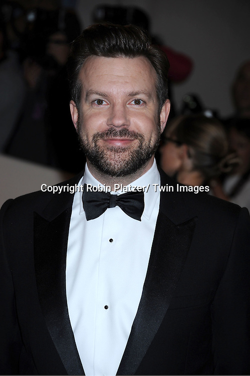 """Jason Sudeikis arriving at The Costume Institute Gala Benefit celebriting """"Alexander McQueen: Savage Beauty"""" at The Metropolitan Museum of Art in New York City on May 2, 2011."""