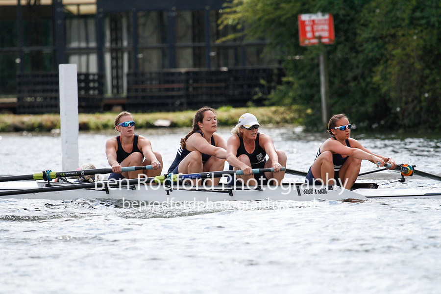 Race: 180 C4+ Quarter-Final - Oxford City vs Upper Thames RC<br /> <br /> Henley Women's Regatta 2017<br /> <br /> To purchase this photo, or to see pricing information for Prints and Downloads, click the blue 'Add to Cart' button at the top-right of the page.