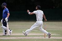 Shahbaz Khan of Harold Wood during Harold Wood CC vs Shenfield CC (batting), Essex Cricket League Cricket at Harold Wood Park on 25th July 2020
