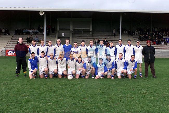 St Josephs Team ..Picture Fran Caffrey Newsfile.