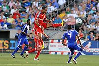 Maicon Santos...Kansas City Wizards defeated Toronto FC 1-0 at Community America Ballpark, Kansas City, Kansas.