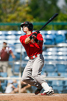 Collin Cowgill of the Visalia Rawhide hits a homerun against the Bakersfield Blaze at Sam Lynn Field, Bakersfield, CA - 05/10/2009.Photo by:  Bill Mitchell/Four Seam Images