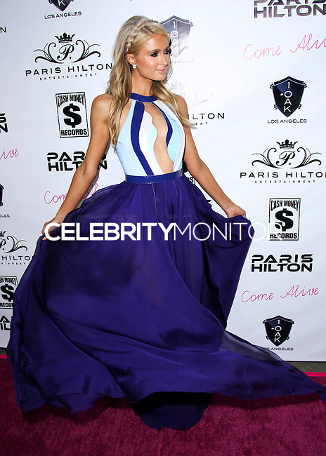 WEST HOLLYWOD, CA, USA - JULY 10: Paris Hilton arrives at her 'Come Alive' Single Release Party held at 1OAK on July 10, 2014 in West Hollywood, California, United States. (Photo by Xavier Collin/Celebrity Monitor)