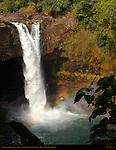 Waianuenue Falls, Rainbow Falls, Wailuku River State Park, Hilo, Big Island of Hawaii