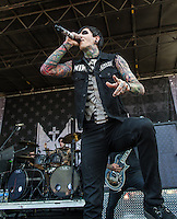 Motionless in White at Mayhem Fest 2013 in Atlanta, GA.