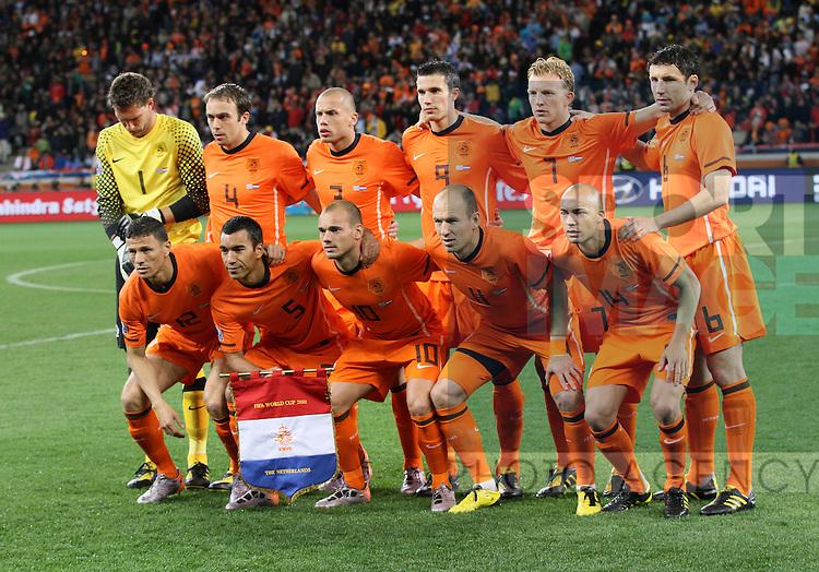 Netherland's team group