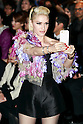American singer Gwen Stefani takes pictures of the media at the Keita Maruyama show as part of Mercedes Benz Fashion Week Tokyo 2016 A/W in Shibuya Hikarie building on March 14, 2016, Tokyo, Japan. As well as attending the fashion week as part of a MasterCard tie-up, Stefani will hold her first concert in Japan in 8 years to promote her third solo album, This Is What the Truth Feels Like. (Photo by Rodrigo Reyes Marin/AFLO)
