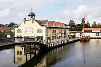Nederland Broek op Langedijk 2015. Museum BroekerVeiling. De oudste doorvaarveiling ter wereld. Hier werd in vroeger tijden groente geveild