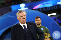 Carlo Ancelotti coach of Napoli<br /> Napoli 05-11-2019 Stadio San Paolo <br /> Football Champions League 2019/2020 Group E<br /> SSC Napoli - FC Salzburg<br /> Photo Cesare Purini / Insidefoto