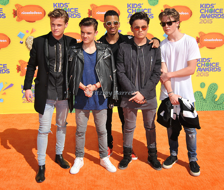 B-Brave arriving at Nickelodeon's 28th Kids' Choice Awards 2015, held at The Forum in Los Angeles Ca. March 28, 2015