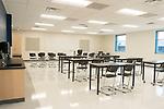Empty, class room