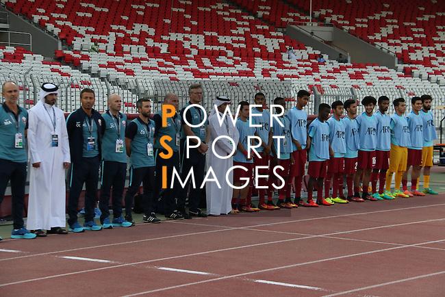 Qatar vs Japan during the 2016 AFC U-19 Championship Group C match at Bahrain National Stadium on 20 October 2016, in Riffa, Bahrain. Photo by Jaffar Hasan / Lagardere Sports