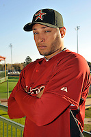 Feb 25, 2010; Kissimmee, FL, USA; The Houston Astros outfielder Alex Romero (66) during photoday at Osceola County Stadium. Mandatory Credit: Tomasso De Rosa / Four Seam Images