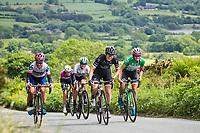 Picture by Alex Whitehead/SWpix.com - 08/06/2017 - Cycling - OVO Energy Women's Tour - Stage 2: Stoke-on-Trent - WM3 Pro Cycling Team's Katarzyna Niewiadoma (right)