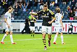 Solna 2015-07-12 Fotboll Allsvenskan AIK - GIF Sundsvall :  <br /> AIK:s Fredrik Brustad firar sitt 4-1 m&aring;l under matchen mellan AIK och GIF Sundsvall <br /> (Foto: Kenta J&ouml;nsson) Nyckelord:  AIK Gnaget Friends Arena Allsvenskan GIF Sundsvall Giffarna jubel gl&auml;dje lycka glad happy