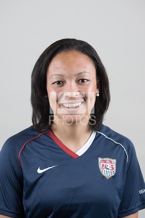 Angela Hucles.USA Women head shots.