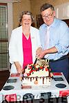 Mai and PJ Broderick celebrating their 40th wedding anniversary in Eabha Jones Listowel on Sunday