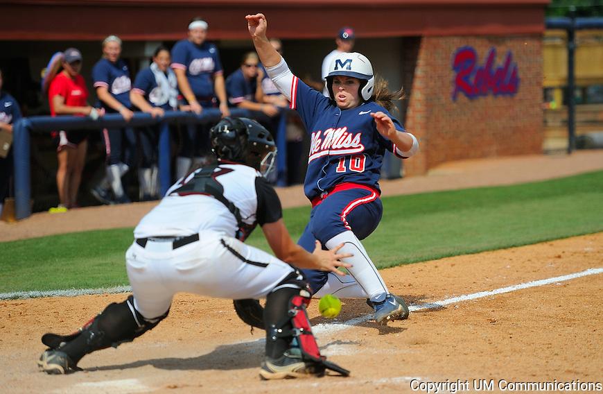 SEC softball Ole Miss v South Carolina Photo by Robert Jordan/University Communications