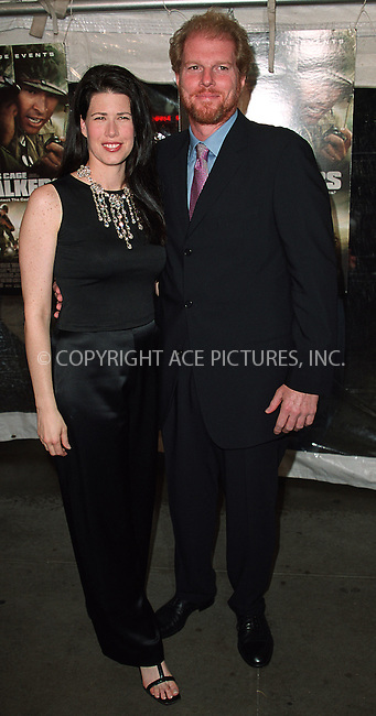 "Melissa Fitzgerald and Noah Emmerich arrives at the New York premiere of ""Windtalkers."" New York, June 6, 2002. Please byline: Alecsey Boldeskul/NY Photo Press.   ..*PAY-PER-USE*      ....NY Photo Press:  ..phone (646) 267-6913;   ..e-mail: info@nyphotopress.com"