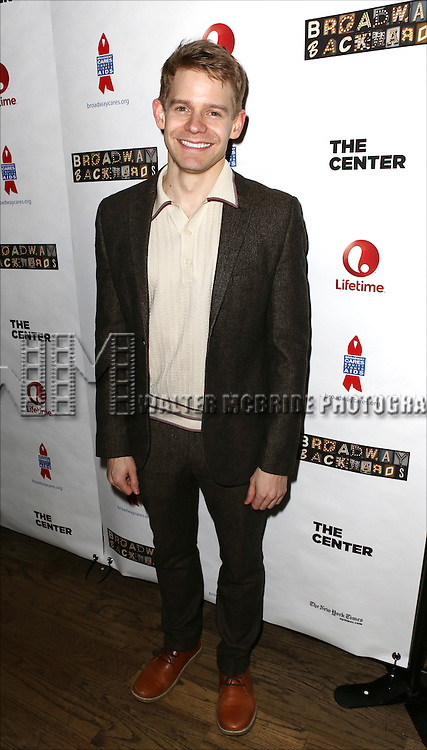 """Andrew Keenan-Bolger attends the """"Broadway Backwards"""" After Party Reception  at John's Restaurant on March 24, 2014 in New York City."""
