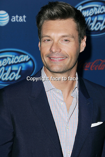 Ryan Seacrest at The American Idol Premiere Event at Royce Hall UCLA, in Westwood, California, 09.01.2013...Credit: MediaPunch/face to face..- Germany, Austria, Switzerland, Eastern Europe, Australia, UK, USA, Taiwan, Singapore, China, Malaysia and Thailand rights only -