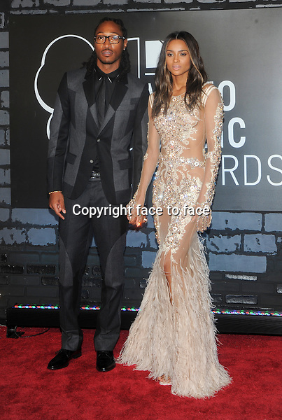 BROOKLYN, NY - AUGUST 25: Ciara Harris and Future attending the 2013 MTV Video Music Awards at The Barclays Center in Brooklyn, NY on August 25, 2013. <br />