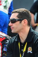 Apr 26, 2008; Talladega, AL, USA; NASCAR Nationwide Series driver Max Papis prior to the Aarons 312 at the Talladega Superspeedway. Mandatory Credit: Mark J. Rebilas-US PRESSWIRE