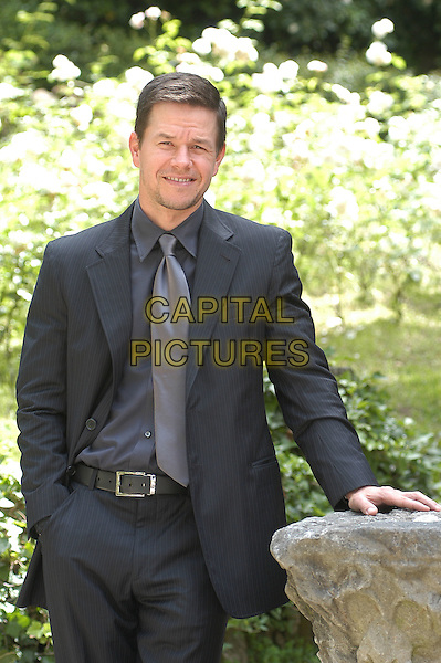 "MARK WAHLBERG.Photocall for new film entitled.""E venne il giorno"" ( English translation -The happening ) in Rome, Italy, 26th May 2008..half length gray gray suit jacket  tie shirt.CAP/CAV.©Luca Cavallari/Capital Pictures"
