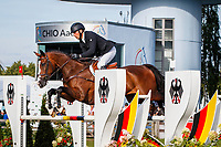 NZL-Tim Price rides Wesko during the SAP Cup - CICO4*-S Nations Cup Eventing Showjumping. Interim-2nd. 2019 GER-CHIO Aachen Weltfest des Pferdesports. Friday 19 July. Copyright Photo: Libby Law Photography