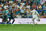Real Madrid's Dani Carvajal and CD Leganes's Jonathan Cristian Silva during La Liga match. September 01, 2018. (ALTERPHOTOS/A. Perez Meca)
