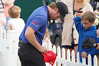 Eddie Pepperell (ENG) at the end of Round 4 of the Portugal Masters, Dom Pedro Victoria Golf Course, Vilamoura, Vilamoura, Portugal. 27/10/2019<br /> Picture Andy Crook / Golffile.ie<br /> <br /> All photo usage must carry mandatory copyright credit (© Golffile | Andy Crook)