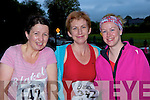 Maura O'Donovan, Helena O'Donoghue both Glenflesk and Laura O'Sullivan Castlemaine who ran at the Feet first road race in Killarney on Friday night..