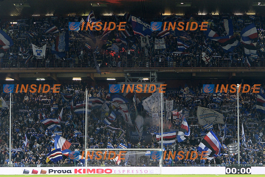 Genova 30-10-2016 - Football campionato di calcio serie A / Sampdoria - Inter / foto Image Sport/Insidefoto<br />  tifosi Sampdoria