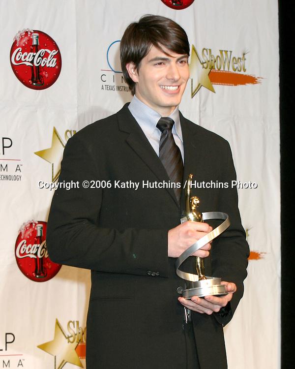 Brandon Routh.ShoWest Award Show 2006.Paris Hotel & Casino.Las Vegas, NV.March 16,  2006.©2006 Kathy Hutchins / Hutchins Photo....