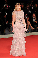 U.S. actress Kirsten Dunst poses on the red carpet for the premiere of the movie 'Woodshock' at the 74th Venice Film Festival, Venice Lido, September 4, 2017. <br /> UPDATE IMAGES PRESS/Marilla Sicilia<br /> <br /> *** ONLY FRANCE AND GERMANY SALES ***