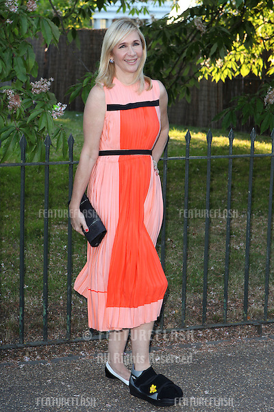 Tanya Bryer arriving for the Serpentine Summer Party, at the Serpentine Gallery, Hyde Park, London. 01/07/2014 Picture by: Alexandra Glen / Featureflash