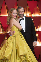 www.acepixs.com<br /> <br /> February 26 2017, Hollywood CA<br /> <br /> Leslie Mann, Judd Apatow arriving at the 89th Annual Academy Awards at Hollywood &amp; Highland Center on February 26, 2017 in Hollywood, California.<br /> <br /> By Line: Z17/ACE Pictures<br /> <br /> <br /> ACE Pictures Inc<br /> Tel: 6467670430<br /> Email: info@acepixs.com<br /> www.acepixs.com