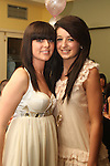 Cherrie Callan with her sister Chloe at her 18th in The Star and Crescent...Picture Jenny Matthews/Newsfile.ie