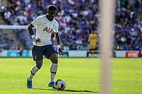 Serge Aurier during the Premier League match between Leicester City and Tottenham Hotspur at the King Power Stadium, Leicester, England on 21 September 2019. Photo by James  Gill / PRiME Media Images.
