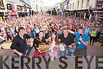 2014 Kerry Rose Mary Hickey with  Ciaran Mulderrig, Conor Moriarty, Sean Murphy, David Rae at the open air Celli at Fieadh cheoil in Killarney on Sunday