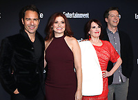 www.acepixs.com<br /> <br /> May 15 2017, New York City<br /> <br /> (L-R) Eric McCormack, Debra Messing, Megan Mullally, and Sean Hayes arriving at the Entertainment Weekly &amp; People New York Upfront on May 15, 2017 in New York City. <br /> <br /> By Line: Nancy Rivera/ACE Pictures<br /> <br /> <br /> ACE Pictures Inc<br /> Tel: 6467670430<br /> Email: info@acepixs.com<br /> www.acepixs.com