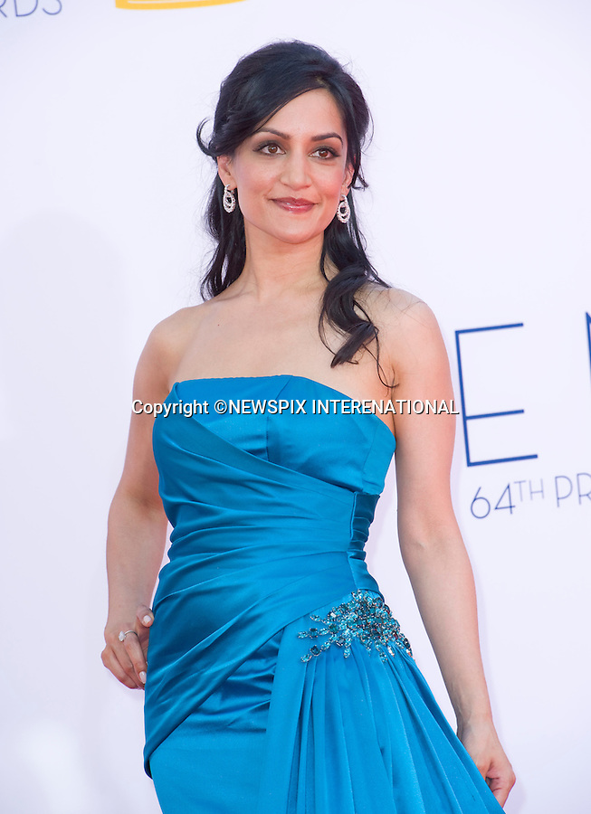 """ARCHIE PANJABI - 64TH PRIME TIME EMMY AWARDS.Nokia Theatre Live, Los Angelees_23/09/2012.Mandatory Credit Photo: ©Dias/NEWSPIX INTERNATIONAL..**ALL FEES PAYABLE TO: """"NEWSPIX INTERNATIONAL""""**..IMMEDIATE CONFIRMATION OF USAGE REQUIRED:.Newspix International, 31 Chinnery Hill, Bishop's Stortford, ENGLAND CM23 3PS.Tel:+441279 324672  ; Fax: +441279656877.Mobile:  07775681153.e-mail: info@newspixinternational.co.uk"""