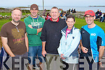 7 FROGS: Member's of Tralee Triathlon Club who took part in the 7 Frogs Triathlon in the Maharees on Saturday l-r: John Wallace, Bernard McElligott, Donal Fitzgibbon, Suzanne Ni Loingsigh and Micheal Cassidy..