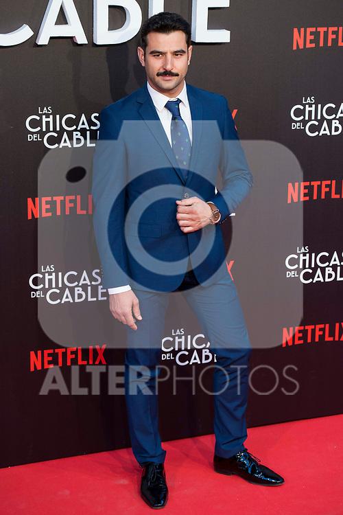 """Antonio Velazquez attends to """"Las chicas del cable"""" premiere at Callao Cinemas in Madrid, April 27, 2017. Spain.<br /> (ALTERPHOTOS/BorjaB.Hojas)"""