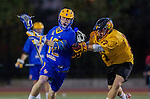Los Angeles, CA 02/01/14 - CP Peralla (UCSB #12) and Ross Ewing (USC #17)