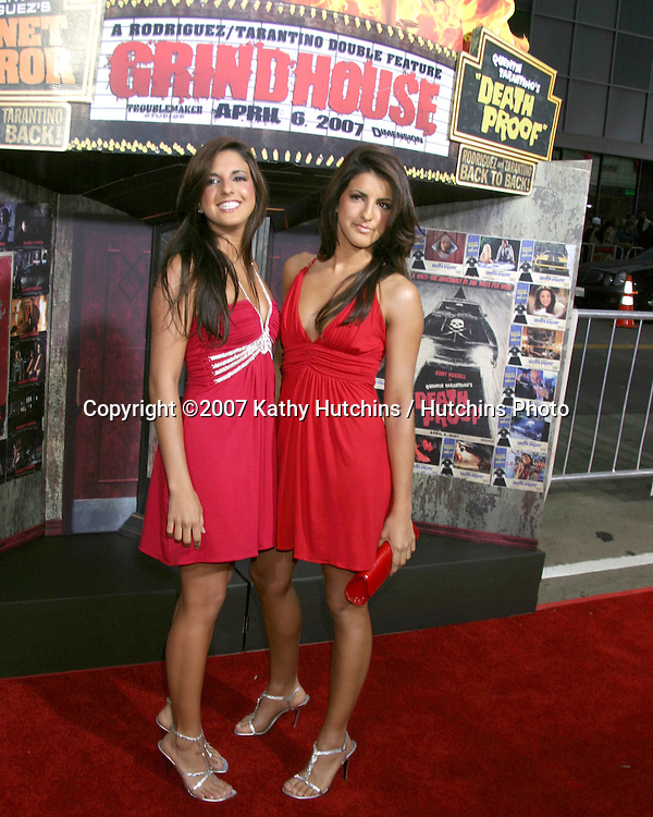 "Electra & Elise Avellan.""Grindhouse"" Los Angeles Premiere.Orpheum  Theater.Los Angeles, CA.March 25, 2007.©2007 Kathy Hutchins / Hutchins Photo."